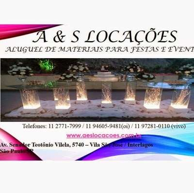 A & S locations and Events